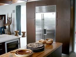 Built In Refrigerator Cabinets Butcher Block Kitchen Islands Pictures U0026 Ideas From Hgtv Hgtv