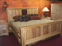 Cheap Log Bed Frames Cheap Rustic Bedroom Furniture Brown Plank Wood Frame Bed Brown