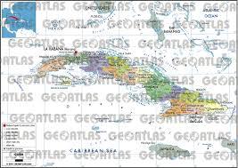 Map Cuba Geoatlas Countries Cuba Map City Illustrator Fully