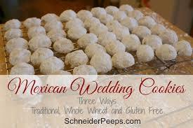 wedding cookies mexican wedding cookies schneiderpeeps