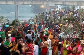 photos chhath puja 2017 images stunning photos of devotees