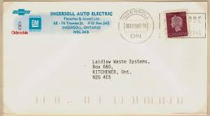 postal history corner canadian domestic letter rates 1867 to the