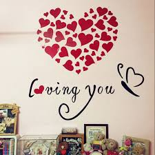 Valentine S Day Wall Decor Diy by Sticker Making Picture More Detailed Picture About Romantic