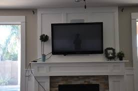 how to decorate around a fireplace how to decorate fireplace mantel around tv