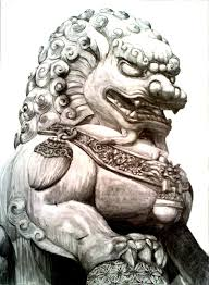 foo dog lion guardian lion or foo dog by imaginecreativmonkey on deviantart