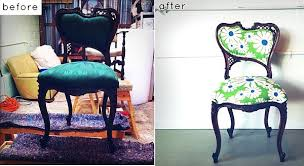 Upholstery Ideas For Chairs 28 Before After Reupholstered Chairs