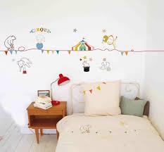 sticker pour chambre dessin mural chambre fille 2 stickers muraux pour d233co de