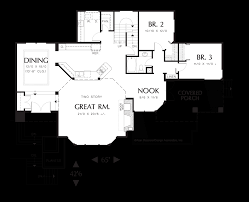 house plans with 4 car garage mascord house plan 22105 the ridgecrest
