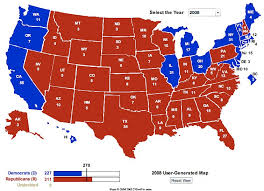 map us colleges 2008 electoral college maps