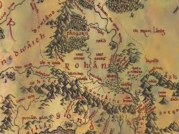 Lord Of The Rings Map Did They Cancel The Other Side Of Rohan