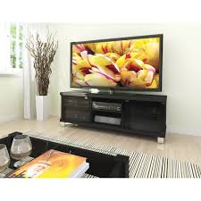 entertainment centers with glass doors modern black tv stand with glass doors fits up to 68 inch tv