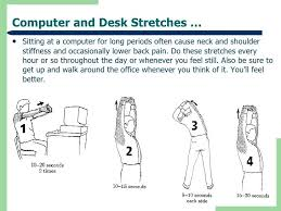 Computer Desk Stretches Computer And Desk Stretches Computer Desk Stretches Exercises