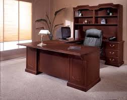 Home Office Wood Desk Traditional Contemporary Home Office Furniture Of Wood Veneer