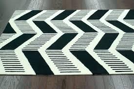 Striped Area Rugs 8x10 Black And White Area Rug Hixathens