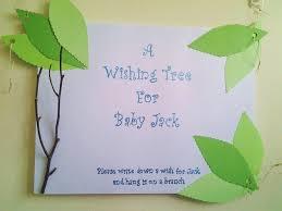 wishing tree nightligt baby shower guest book project nursery