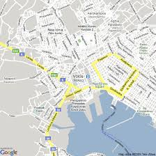 volos map map of volos greece hotels accommodation