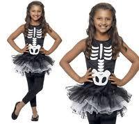 Halloween Costumes Girls Age 13 14 Girls Skeleton Tutu Dress Ages 10 11 12 Halloween Fancy