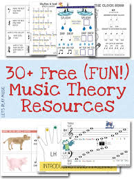 free resources free sheet music and theory printables music