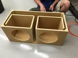 How To Build A Speaker Cabinet Best 25 Diy Subwoofer Ideas On Pinterest Subwoofer Box Design