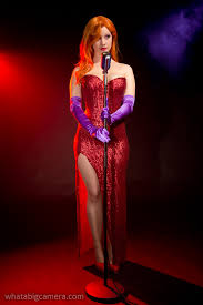 Halloween Costume Jessica Rabbit Yaya Han Jessica Rabbit Cosplay Cleavage