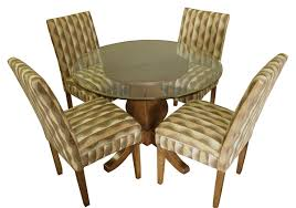 Covered Dining Room Chairs Wood Dinette Sets Wooden Tables Dining Chairs