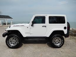 jeep rubicon white 2017 jeep wrangler rubicon 2013 6 4l 470hp hemi 6 speed manual trans