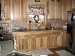 knotty hickory cabinets with backsplash google search kitchen