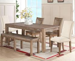 shaker espresso 6 piece dining table set with bench 6 piece dining set with bench palazzo espresso simple living shaker