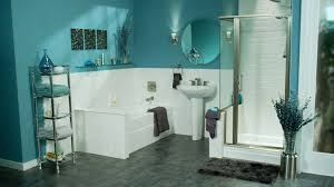 Bathroom Wall Decorating Ideas Small Bathrooms by Alluring 10 Purple And Gray Bathroom Decor Design Decoration Of