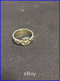 avery claddagh ring retired avery claddagh ring 14k solid gold size 11 8 5 grams