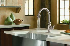 kohler k 690 cp vinnata kitchen sink faucet polished chrome