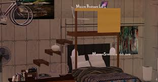 my sims 3 blog maxim loft bedroom set by marcusims91