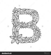 floral alphabet coloring pages n coloring pages of