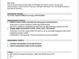 Sap Sd Consultant Resume Sample 25 Cover Letter For Sap Abap Consultant It Consultant Cover