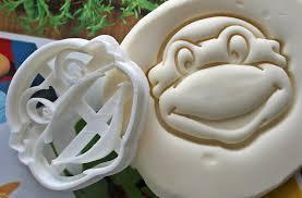 teenage mutant ninja turtles 1 cookie cutter biodegradable