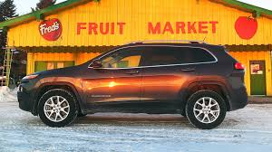 jeep cherokee trailhawk orange 2015 jeep cherokee north 4x4 test drive review