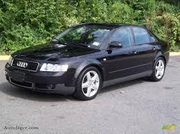 2003 audi a4 1 8 t sedan 2003 audi a4 1 8t quattro sedan in brilliant black 240806 auto