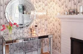 Acrylic Vanity Table Acrylic Vanity Table Bedroom Contemporary With Metal Bathroom Mirrors