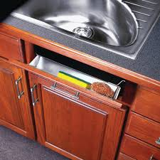 Real Solutions For Real Life  In White Sink Front Tray With - Kitchen sink drawer