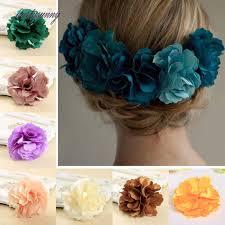 flowers for hair pf barrette hairpins silk flowers for hair for women