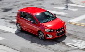 chevy sonic 2013 chevrolet sonic rs manual test u2013 review u2013 car and driver