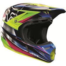 motocross helmet designs fox v4 race helmet chrome crazy dogs motorcycles