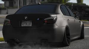 bmw m5 slammed bmw e60 m5 add on tuning liveries gta5 mods com