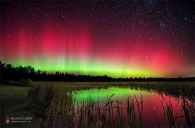 can you see the northern lights in maine meteor shower mixes with surprise northern lights show