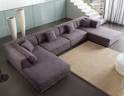 U Shaped Sectional Sofa U Shaped Sectional Sofas With Chaise Grey Color All About House