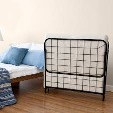 Folding Bed Frame Ikea Table Glamorous Plattform Base Portable Bed Frame Camping