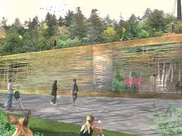 Urban Wall Garden - in closure public park and interactive wall for urban revival