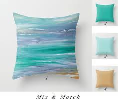 Lumbar Pillows For Sofa by Turquoise Pillow Cover Beach Pillows Lumbar Pillow