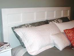 How To Make A Platform Bed With Headboard by How To Make A Simple Cottage Style Headboard How Tos Diy