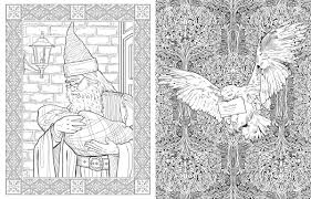 harry potter colouring book studio press bookseller